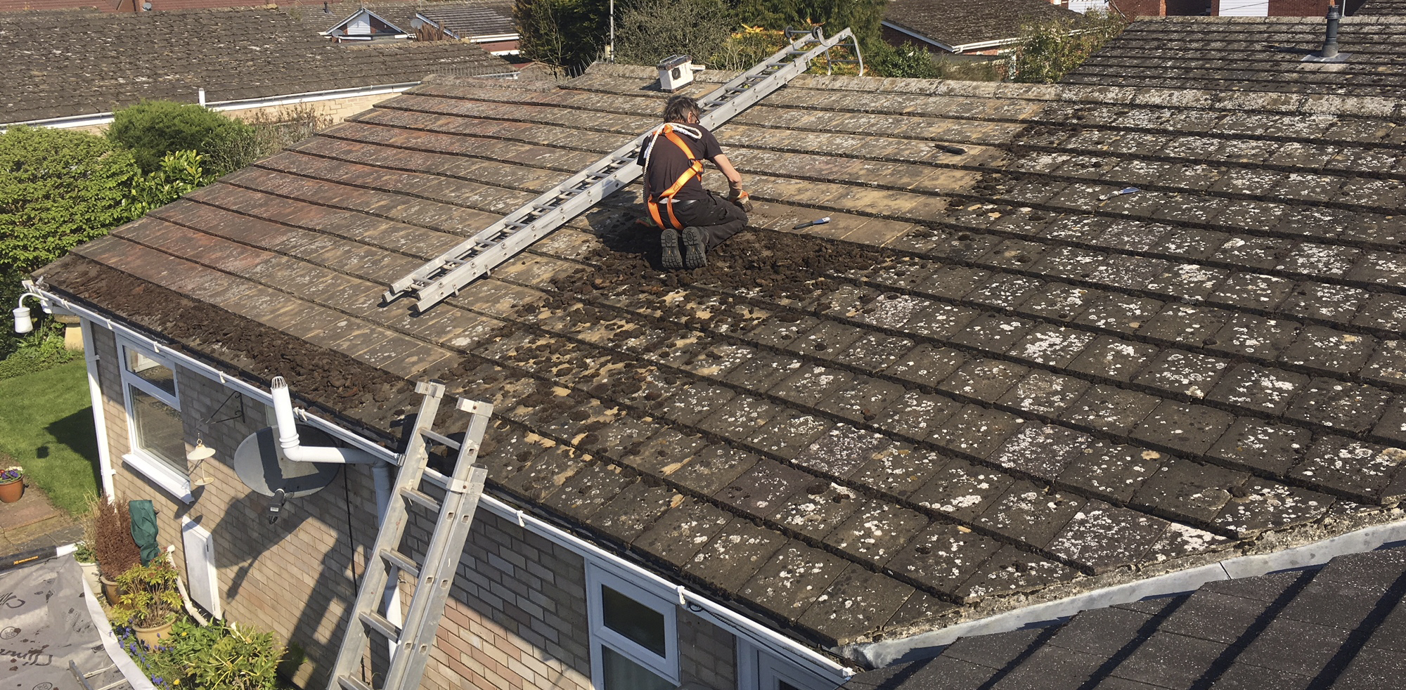 Bungalow Roof Clean Brundall NR13